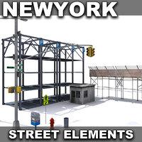 New York Street Elements