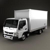 Mitsubishi Fuso Canter 515 Wide Single Cab Pantech Truck 2016