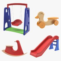 Play Ground Toys 3D Model