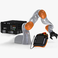 Kuka LBR with Gripper in Collection