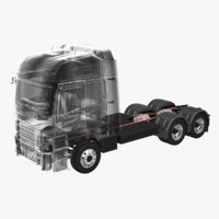 Electric Truck Chassis X-ray