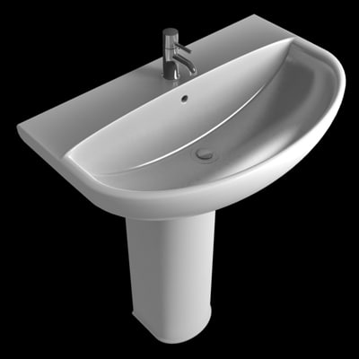 3d model washbasin